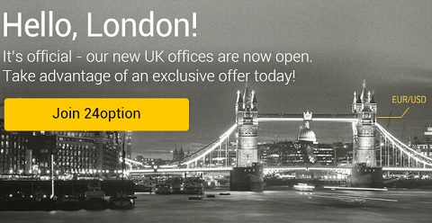 24Option in London UK