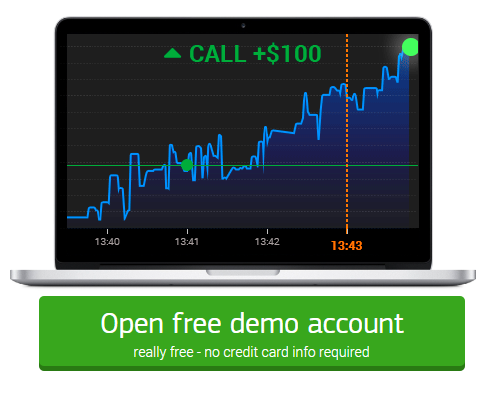 Binary options demo account deposit