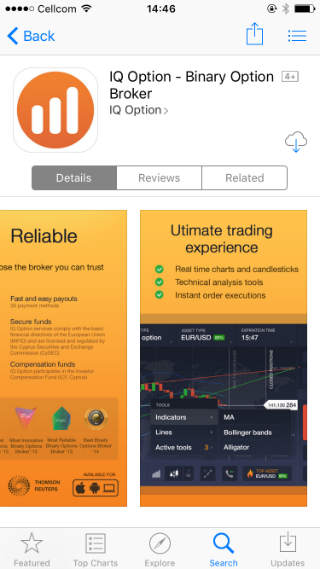 Binary options simulator app